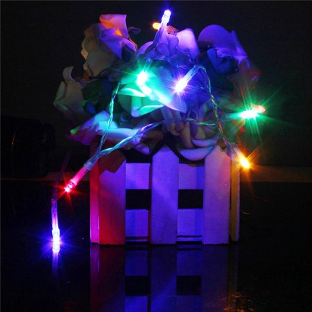 1M 10 LED Battery Powered Christmas Wedding Party String Fairy Light - image 2 de 5