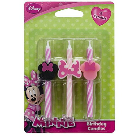 Disney Minnie Mouse Cake Candles