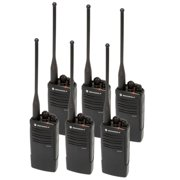 Motorola RDU4100 6 Pack- UHF 4 Watt 10 Channel Radio