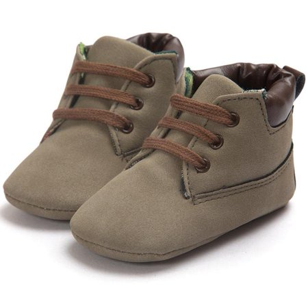 Baby Toddler Soft Sole Leather Shoes Infant Boy Girl Toddler - Boys Brown Leather Dress Shoes