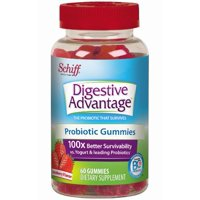 Digestive Advantage Strawberry Daily Probiotic Gummies, 60 ct