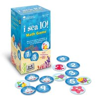 Learning Resources I Sea 10! Game, Includes 100 Cards, Ages 6+