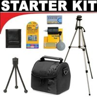DB ROTH Accessory STARTER KIT For The Sony Cybershot DSC-H50, DSC-H10, DSC-H9, DSC-H7, DSC-H3 Digital Cameras, STARTER KIT INCLUDES 7 PRODUCTS -- with all.., By Deluxe,USA