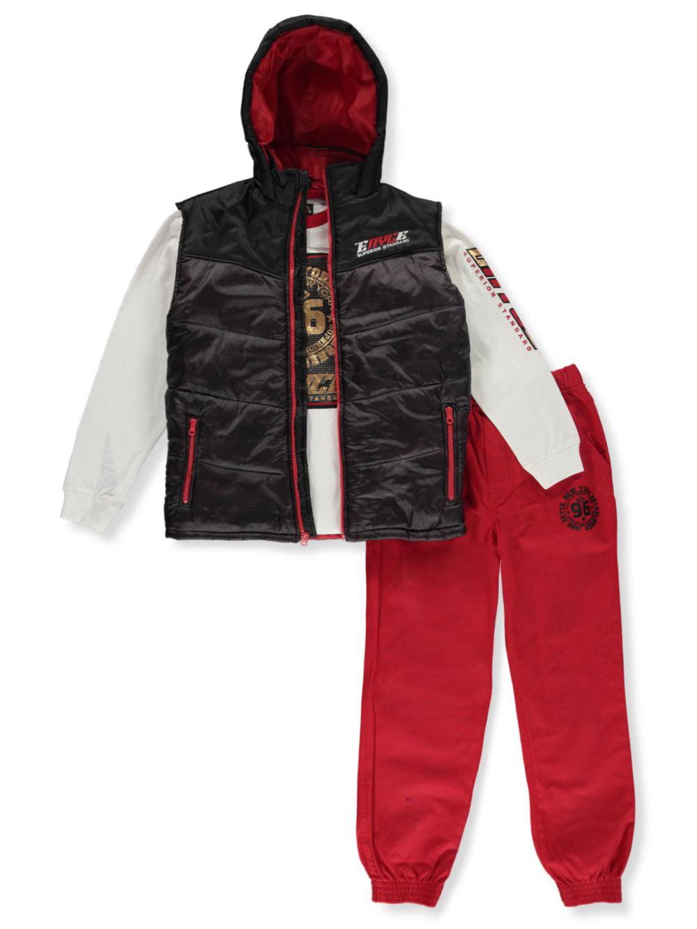 Enyce Boys/' Camo Vest 3-Piece Joggers Set Outfit