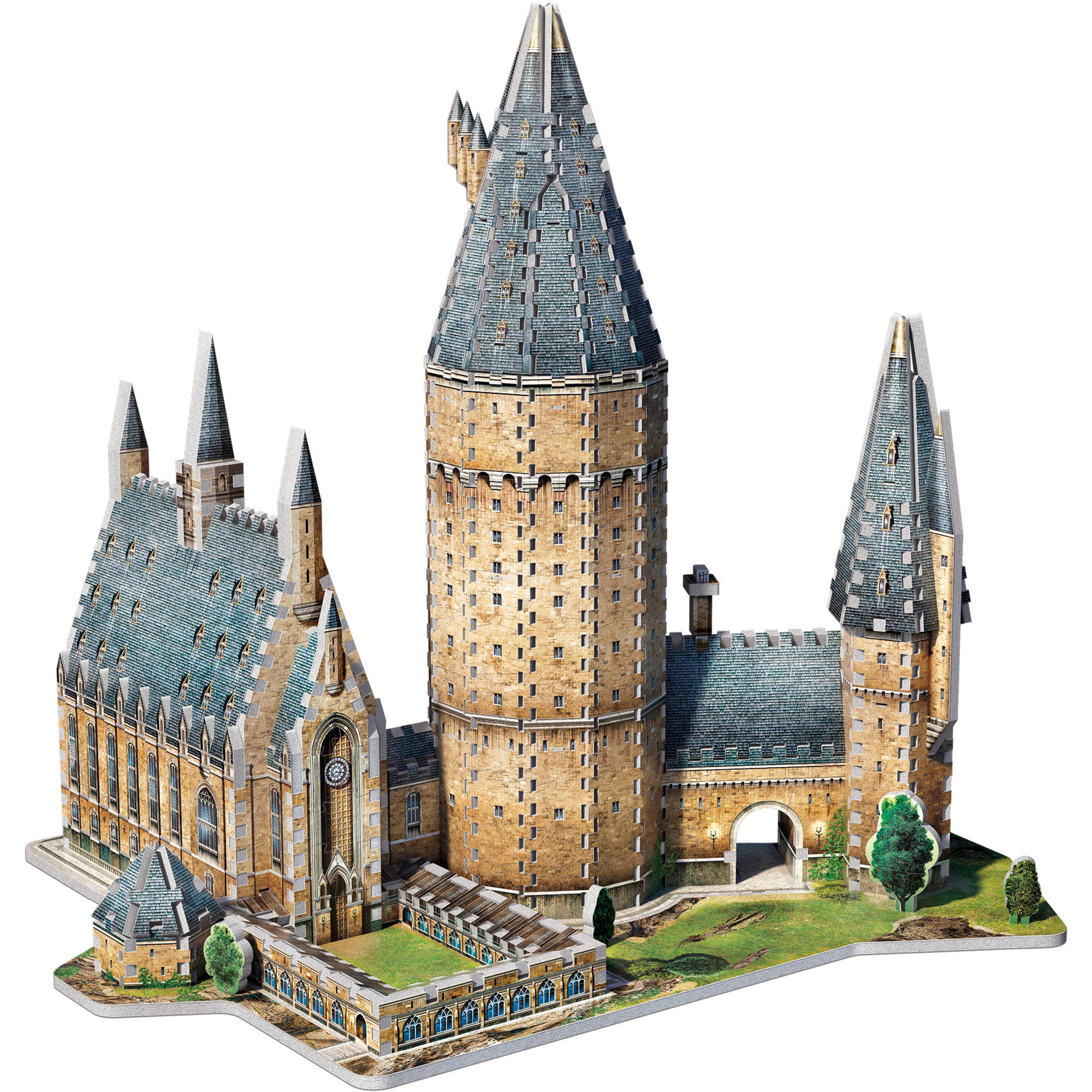 Wrebbit 3D Puzzle Harry Potter Hogwarts Great Hall, 850 Pieces