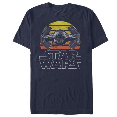 Star Wars Men's TIE Fighter Retro T-Shirt