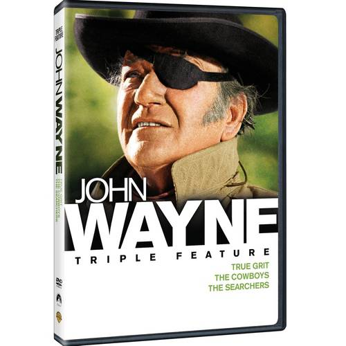 John Wayne Triple Feature: True Grit (1969) / The Cowboys / The Searchers (Widescreen)