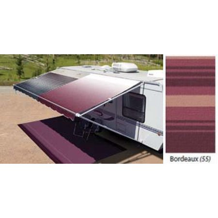 Carefree of Colorado RV Vinyl Replacement Patio Awning Fabric 16' Bordeaux