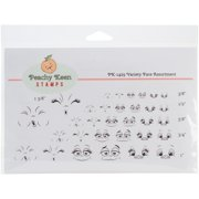 Peachy Keen Stamps Clear Face Assortment 32/pkg-variety