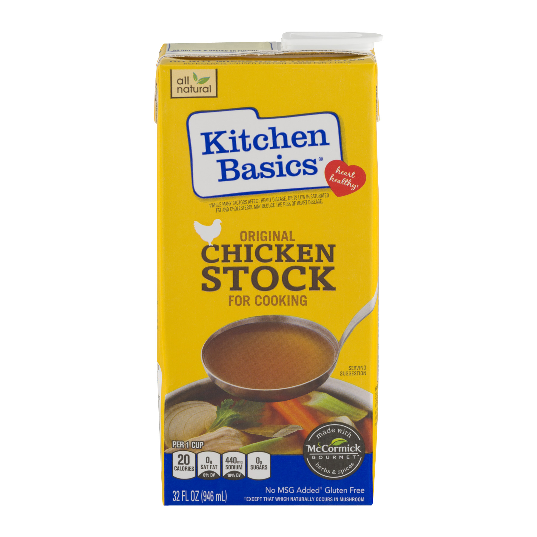 Kitchen Basics® All Natural Original Chicken Stock, 32 oz