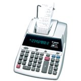 Canon MP11DX 12-Digit Ribbon Printing Calculator, Black/Red Print, 3.7 Lines/Sec