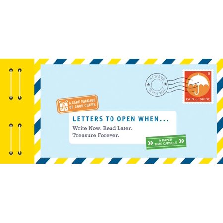 Letters to Open When... : Write Now. Read Later. Treasure Forever. (Long Distance Relationship Gifts, Gifts for Friends, Letter (Best Gifts Long Distance Relationships)