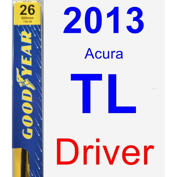 2013 Acura TL Driver Wiper Blade