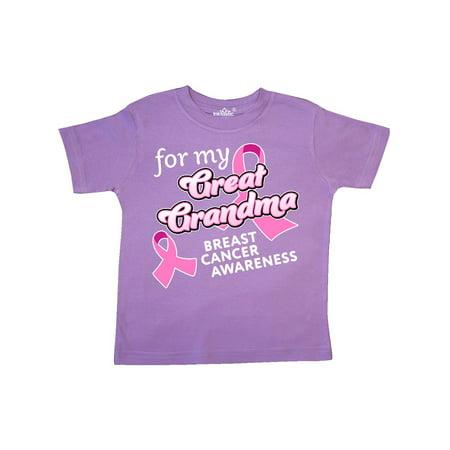 For My Great Grandma-Breast Cancer Awareness Toddler (Baby Grandma's Back Costume)