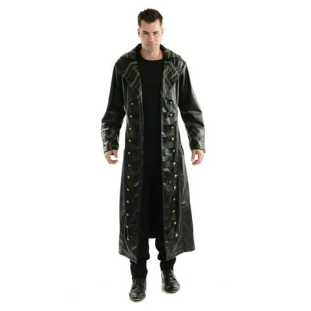 Detective Trench Coat Costume (Halloween Pirate Trench Coat Adult)