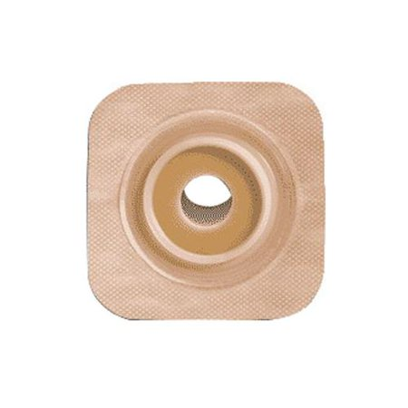 Surfit Natura Stomahesive Flexible Precut Wafer 4 x 4 Stoma 1 Part No. 125271 Qty  Per (Flexible Stoma Wafer)