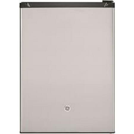GE Appliances 5.6 Cu. Ft. Capacity Freestanding Compact Refrigerator, Silver (Compact Refrigerator Accessories)