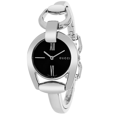 Gucci Women's Horsebit 139 Sapphire Crystal 28mm Watch YA139503 Sapphire Crystal Watch Glass