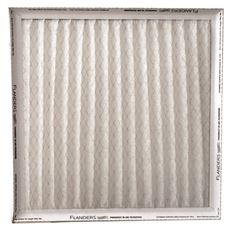 "Flanders Merv 6 (1 Filter), Pinch Pleated Air Filter, 12"" X 24"" X 1"