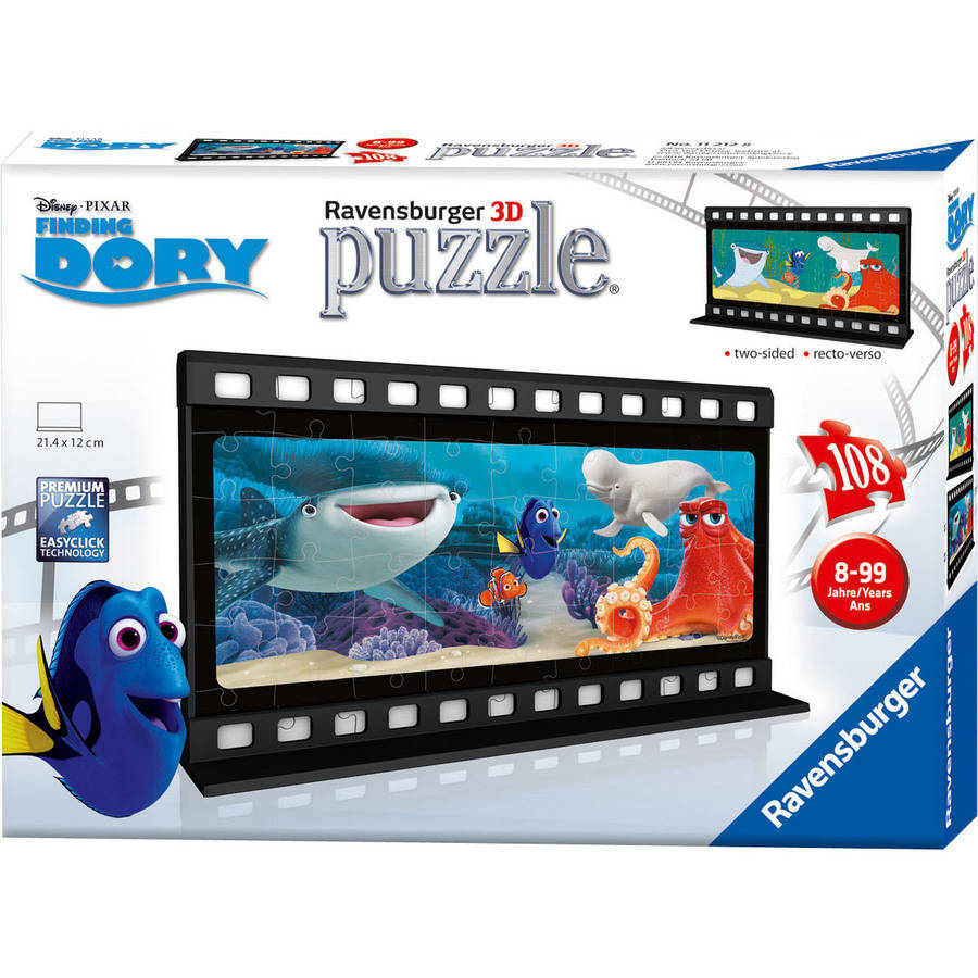 Ravensburger Disney Finding Dory 108-Piece 2-Sided Filmstrip Puzzle
