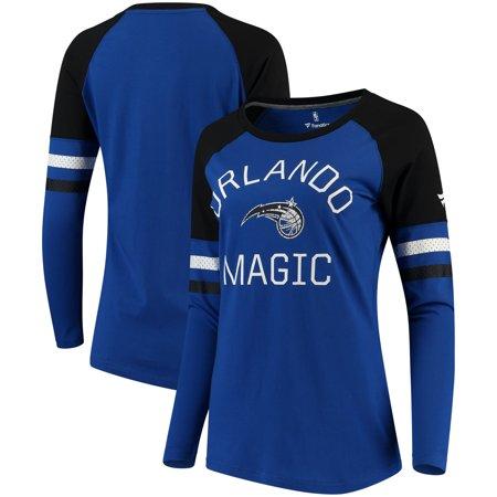 Orlando Magic Fanatics Branded Women's Iconic Long Sleeve T-Shirt - Blue/Black