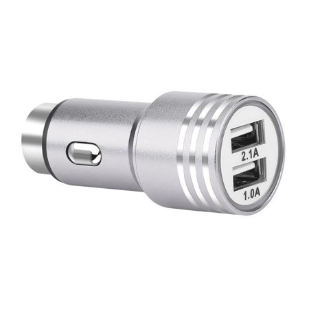 Deago 2A Dual Port USB Car Charger 12-24W Fast Charging Adapter For Apple iPhone X 8 Samsung Galaxy ()