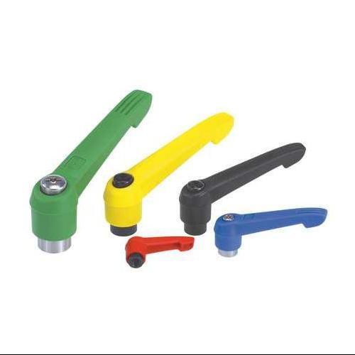 KIPP 06600-1AE16 Adjustable Handles,8-32,Yellow