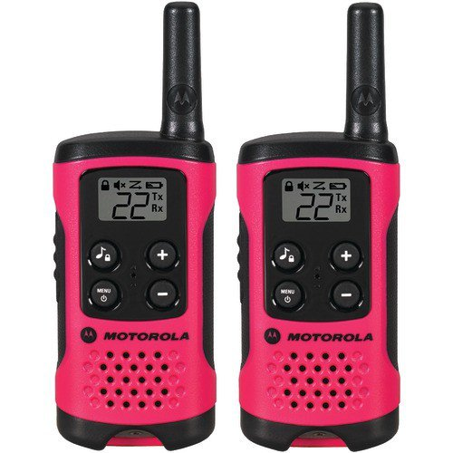 Motorola T107 Talkabout Radio, 2-Pack