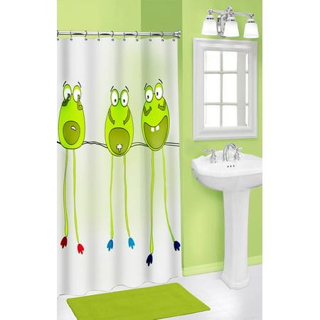 Frog Legs Shower Curtain