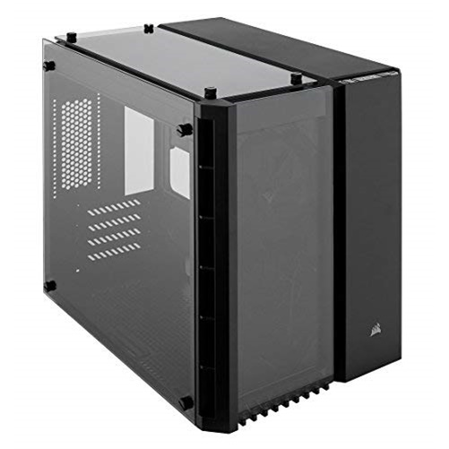 Corsair Crystal 280X Micro-ATX Case, Tempered Glass - Black