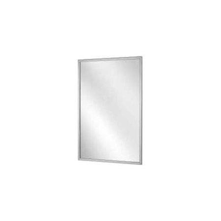 Bradley Corporation 553301 Bradley Angle Frame Mirror 18