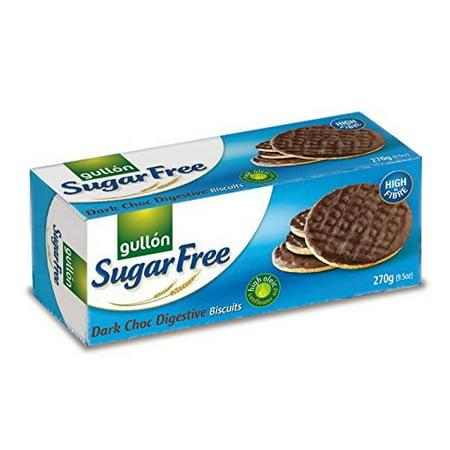 Gullon Sugar Free Choco Digestive Biscuits, 270g (Ideas For Halloween Sugar Cookies)