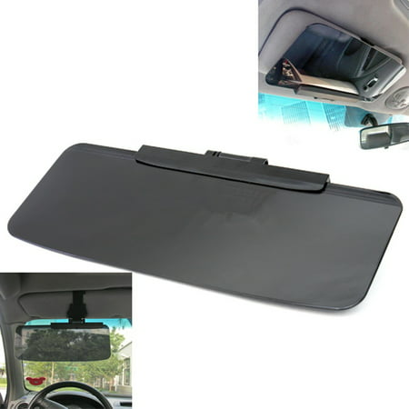 Universal Adjustable Car Driver Goggles Cab Sun Visor Shade Sun Visor Shield Extension Block UV Driving Window Night Vision Anti-dazzle ()
