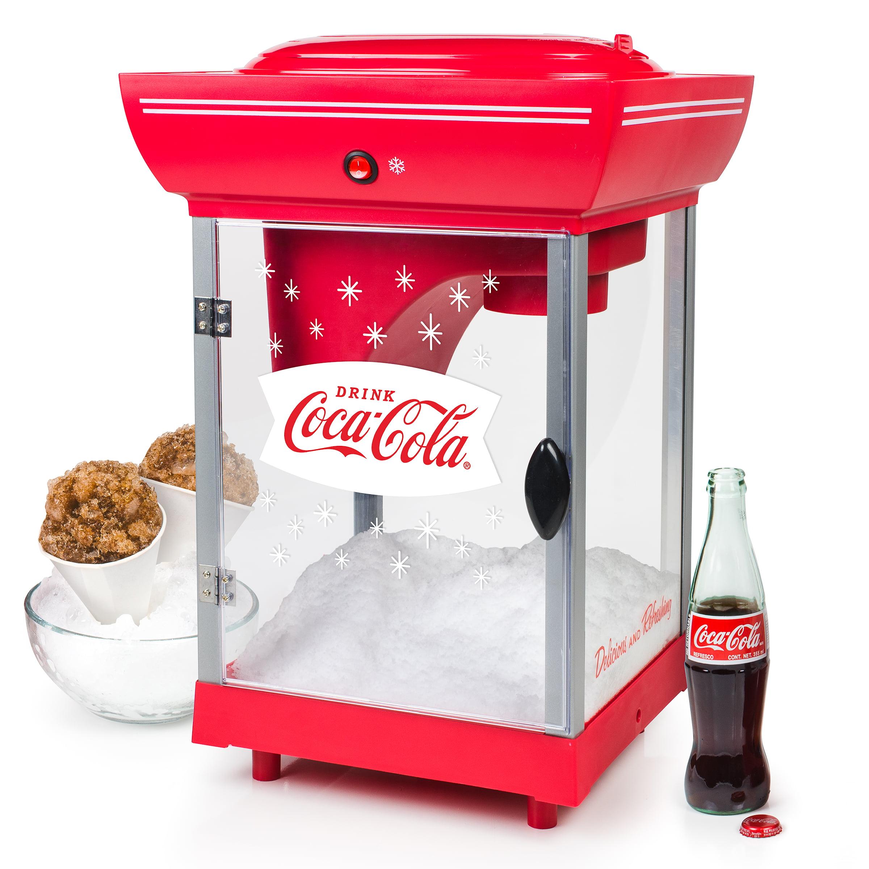 Nostalgia SCC399CKTOP Coca-Cola Snow Cone Cart, Red