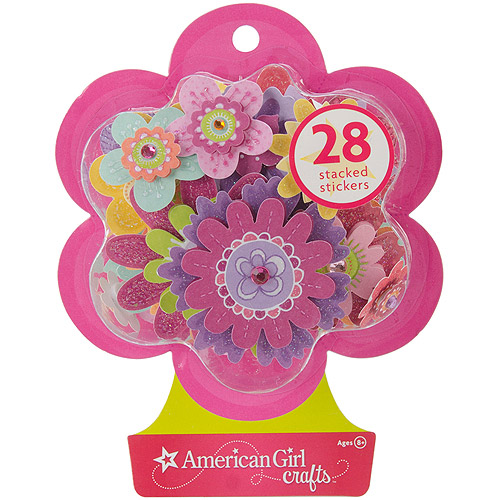 Fancy Flowers - American Girl Stacked Stickers