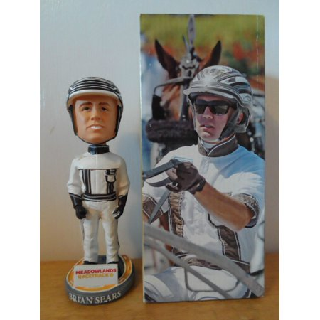 Brian Sears Vernon Downs Horse Race Bobble SGA '08 Bobblehead