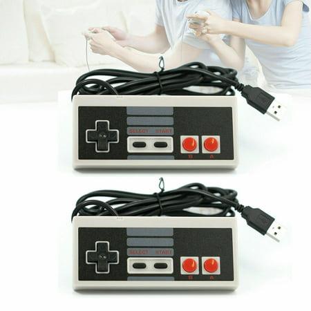 EEEkit 2 Pack NES Classic Controller for Nintendo Classic Mini Edition, Classic Nintendo Controller for NES Classic Mini Cord