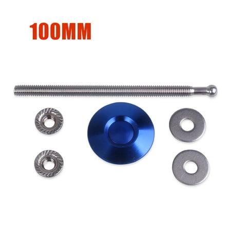 Universal Mini 32mm Fastener Quik Release Hood Push Button Billet Pins