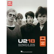 Easy Guitar with Notes & Tab: U2: 18 Singles (Paperback)
