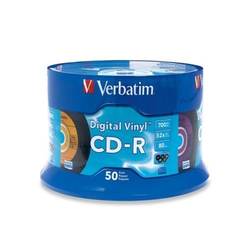 Verbatim Digital Vinyl 16x CD-R Media 2C32246