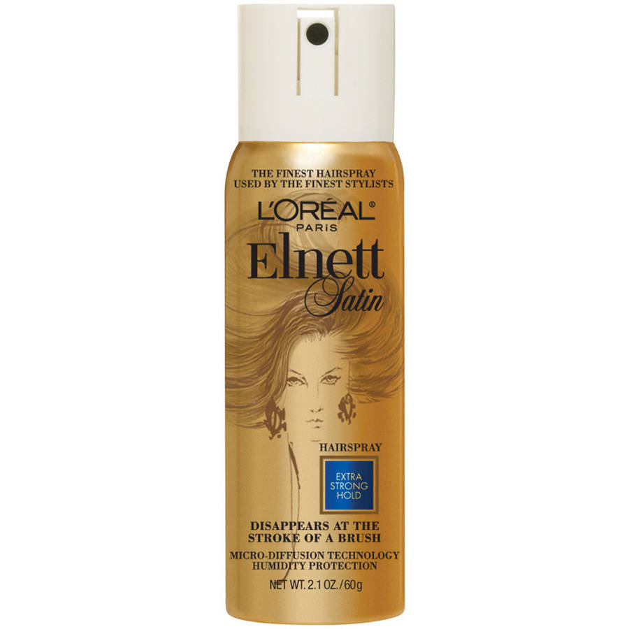 L'Oreal Paris Elnett Satin Hairspray 2.2 OZ