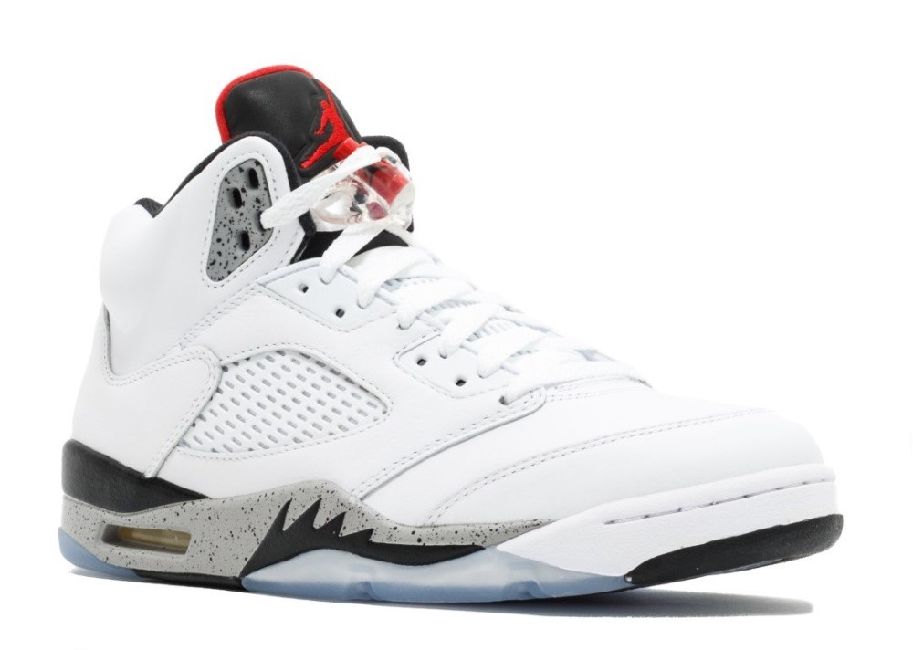 6ab24019378d7 Air Jordan - Men - Air Jordan 5 Retro  White Cement  - 136027-104 - Size  10.5