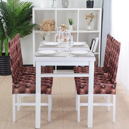 Piccocasa Stretch Dining Room Chair Covers Protector Slipcovers Set