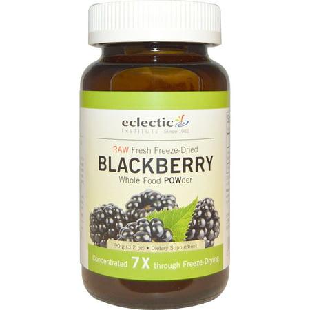 Eclectic Institute  Blackberry POWder  Raw  3 2 oz  90 g Eclectic Institute Black Walnut