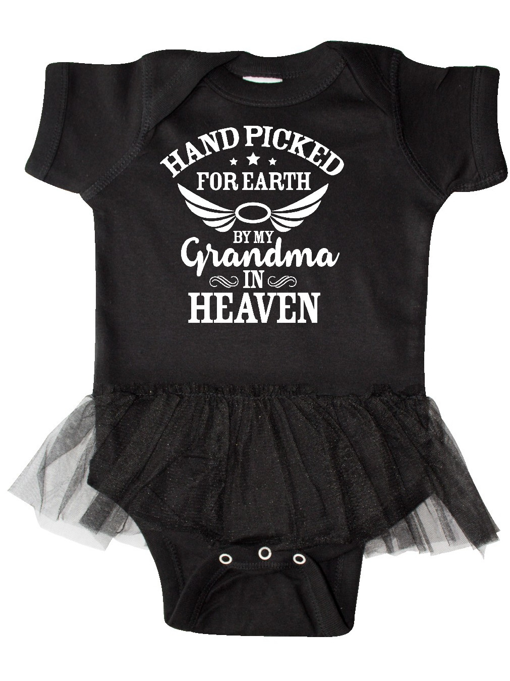 inktastic Handpicked for Earth by My Grammy in Heaven with Infant Tutu Bodysuit
