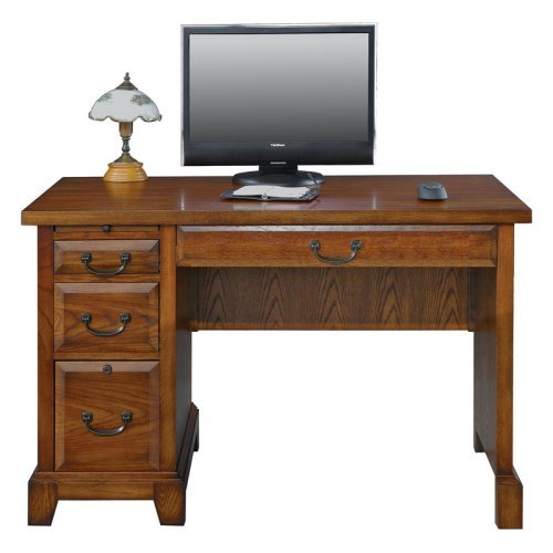 Winners Only Zahara 47 in. Writing Desk - Medium Oak