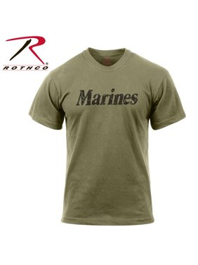 Product Image (Price EA)Rothco 66455 Distressed Marines T-Shirt-2XL eeead8444d