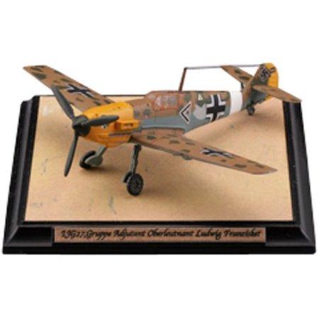 Tomytec 1/144 Messerschmitt Bf109 E-7/Trop 27th Combat Wing 1/144 Bf109E-3a Swiss Air Force  Pre-Painted Plastic Model