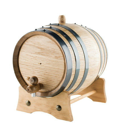 5 Liters American White Oak Wood Aging Barrels | Age your own Tequila, Whiskey, Rum, Bourbon, Wine... ()