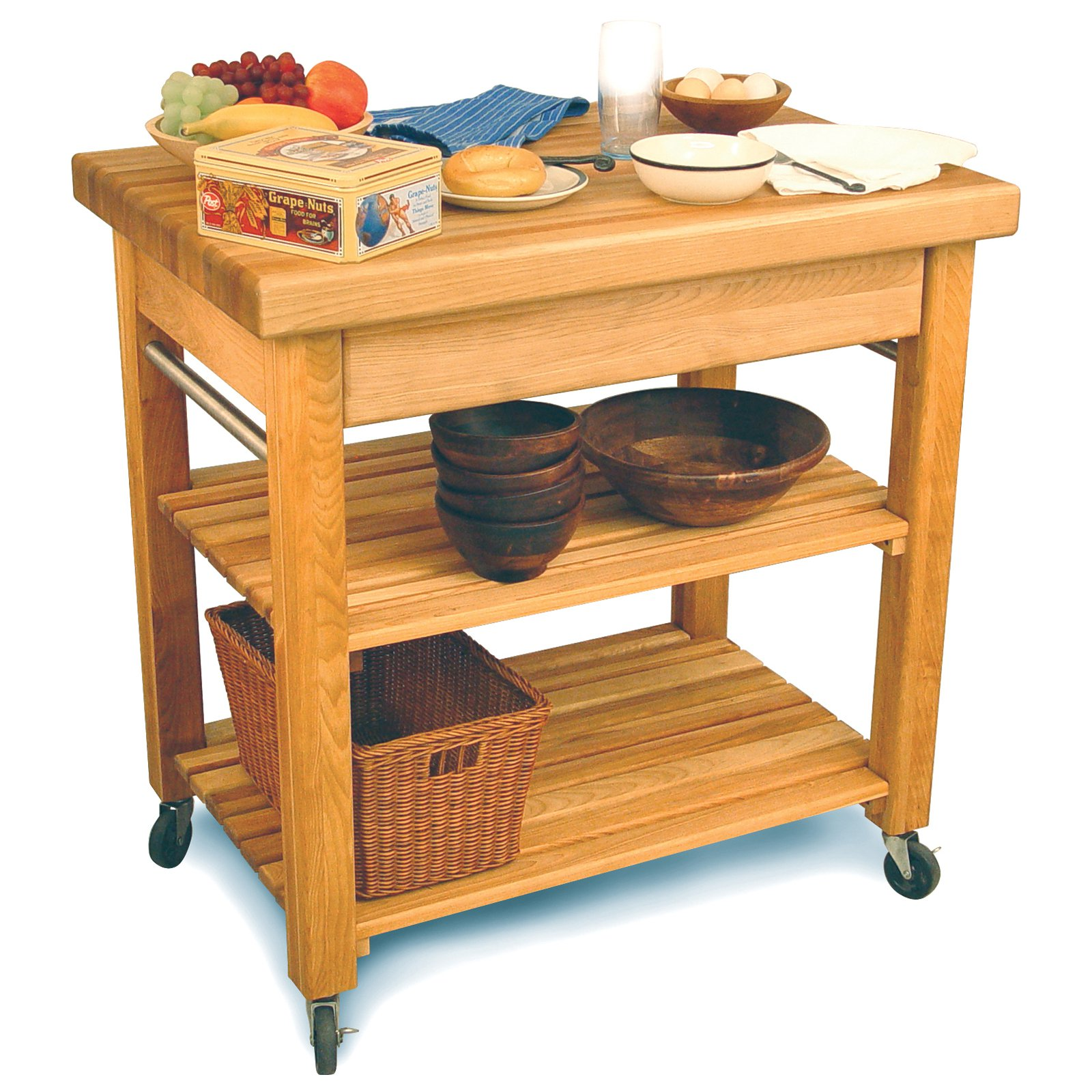 Catskill Craftsman French Country Medium Butcher Block in Natural - 1476
